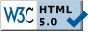 w3c unofficial icon validation